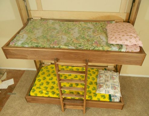 Custom Murphy Fold Up Bunk Beds By Furniture By Phoenix