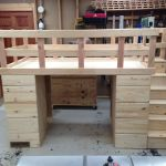 Hand Crafted Loft Bed With Storage By Cannon Custom Woodworking Llc Custommade Com