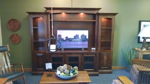 Buy A Hand Made Berlin Entertainment Center Wall Unit In
