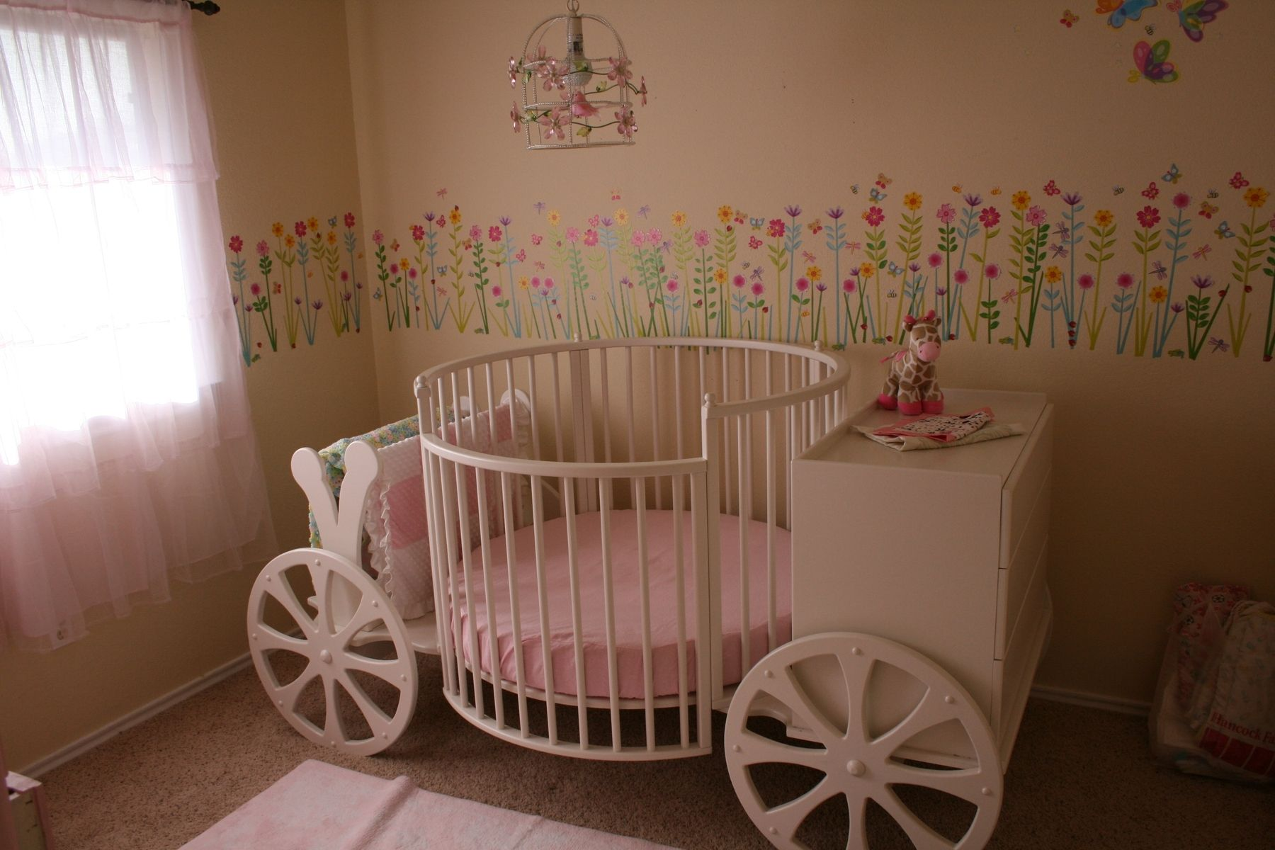 Handmade Carriage Crib By Stoll Furniture And Design