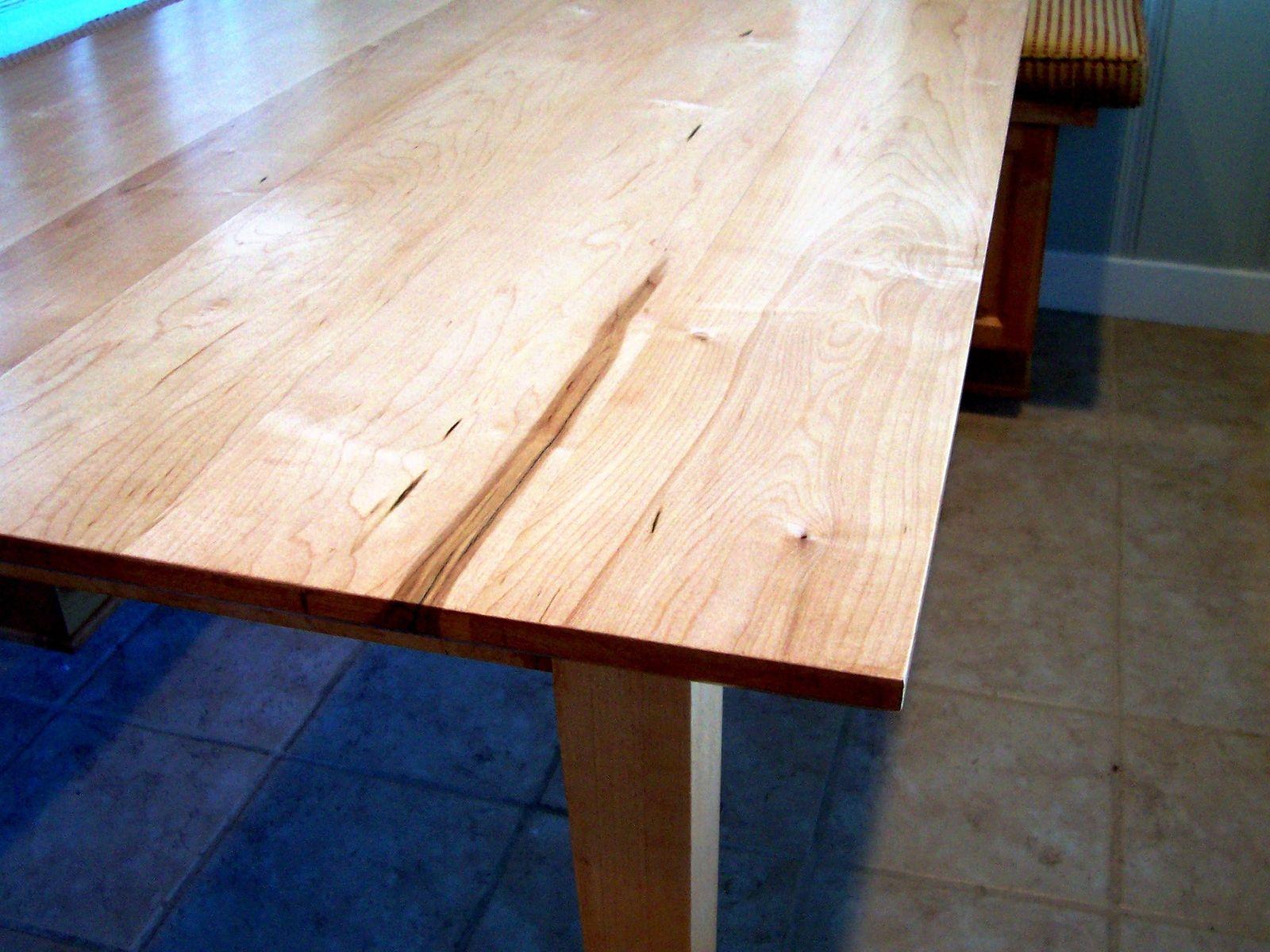 Hand Made Shaker Inspired Maple Table By Grant Kistler