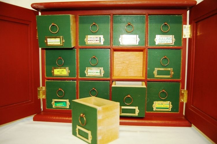 Hand Made Tea Cabinet By Nh Accents Fine Crafts Llc