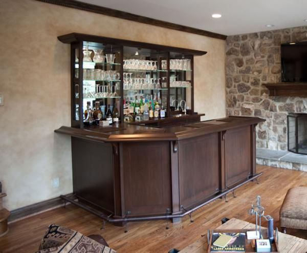 Handmade Family Room Wet-Bar. By Terrapin Woodworking