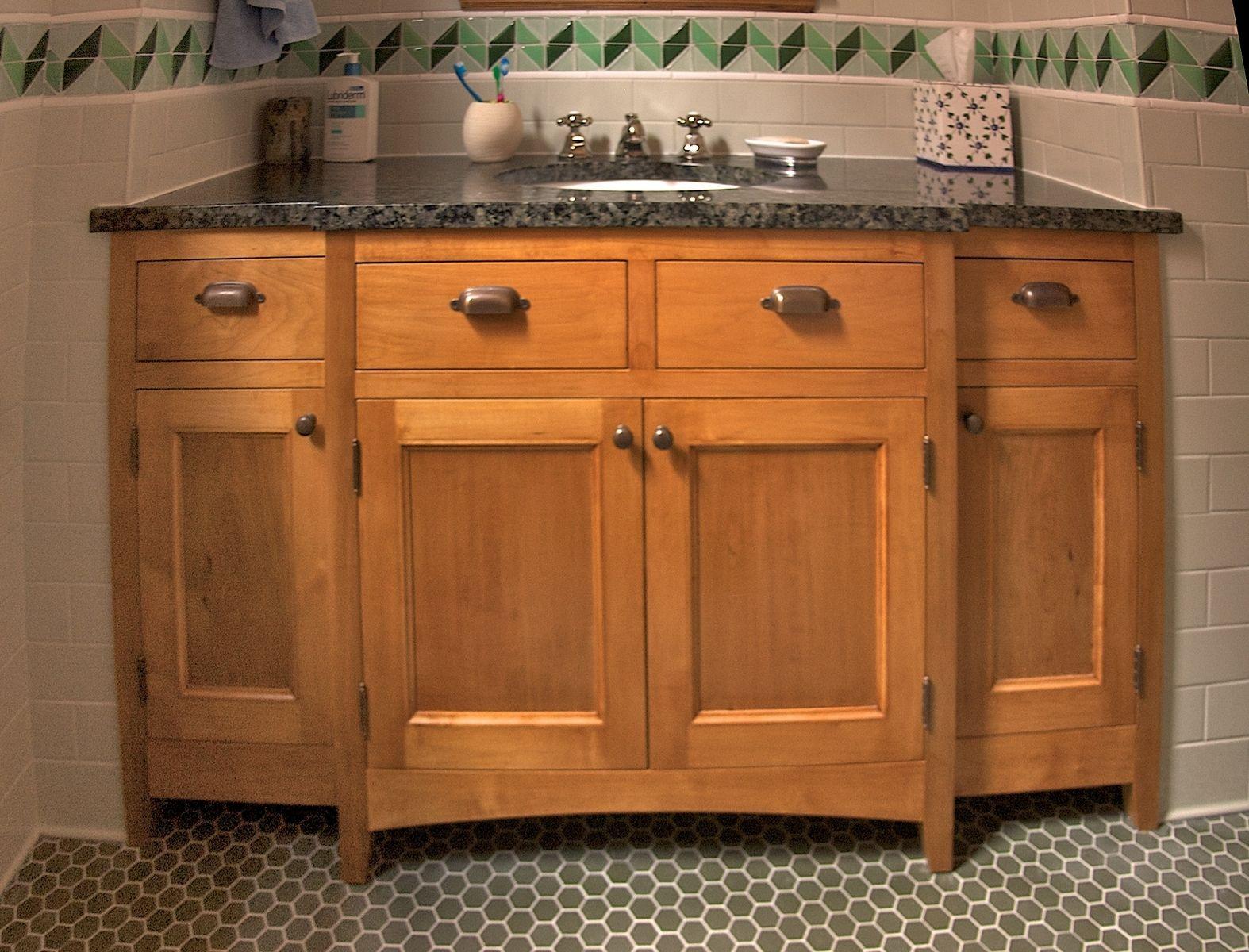 Custom Maple Bathroom Cabinetry by Mann Designs ... on Bathroom Ideas With Maple Cabinets  id=81469