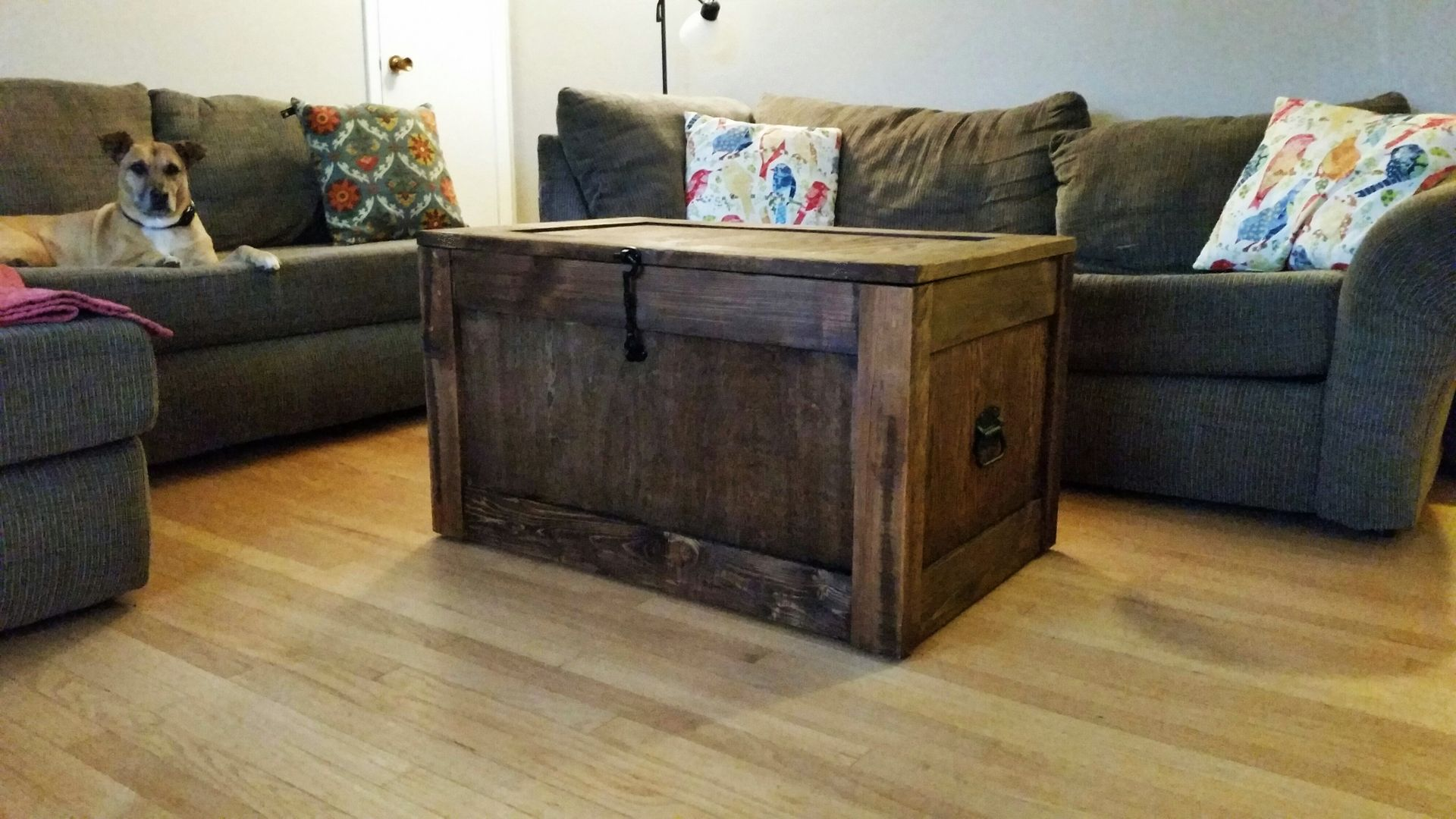 storage trunk wooden trunk trunk