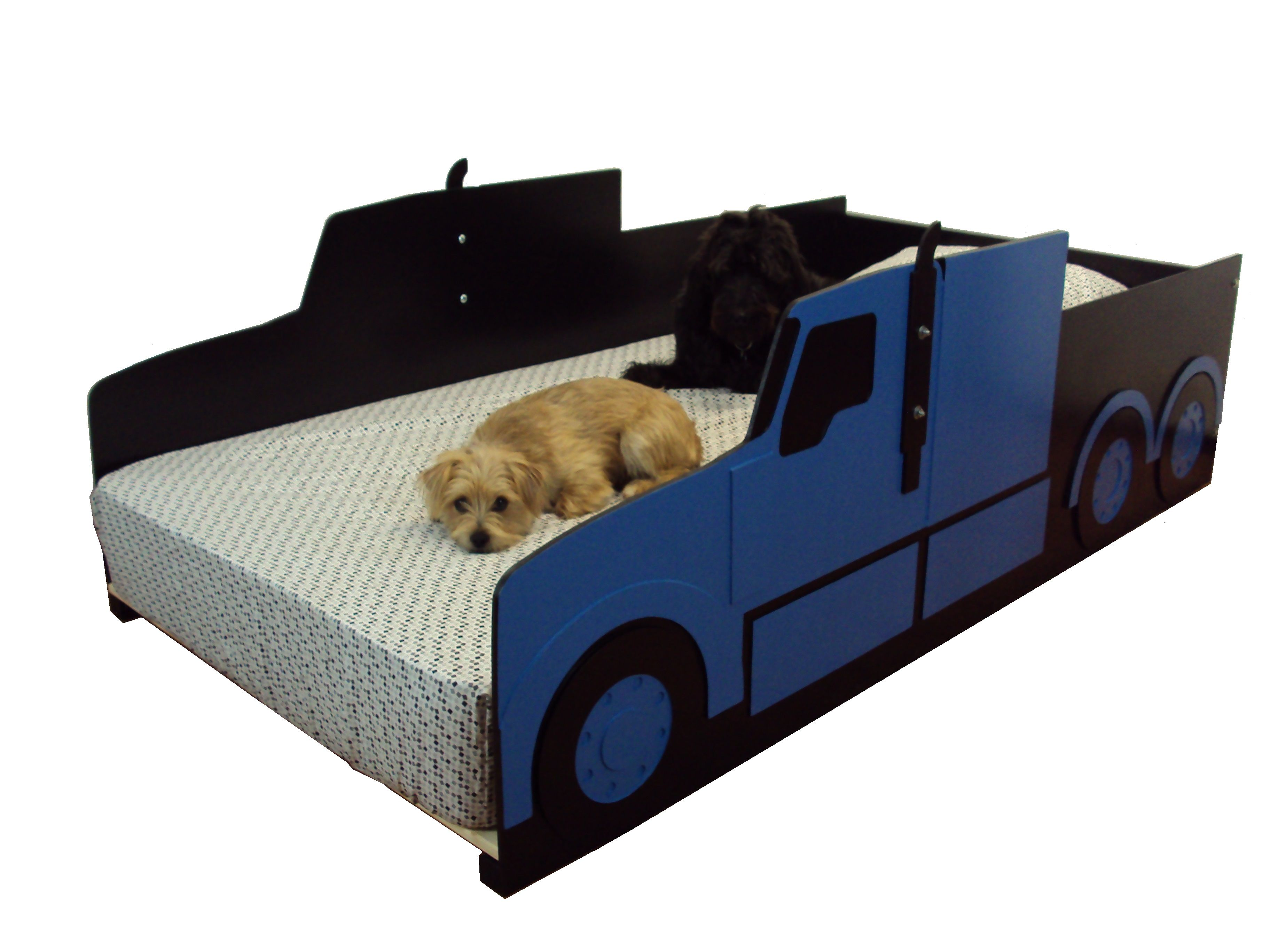 Custom Semi Tractor Truck Twin Kids Bed Frame Handcrafted Truck Themed Children S Bedroom Furniture By Tradecraft Specialties Custommade Com