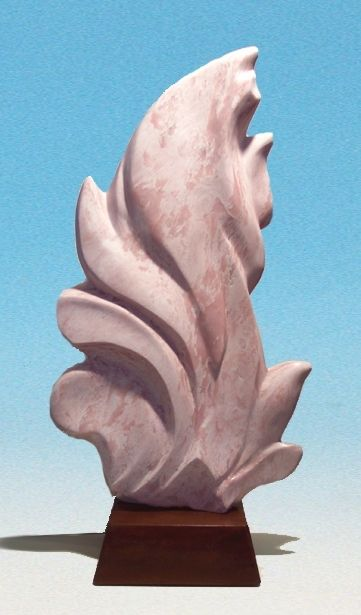 Hand Crafted Stone Sculpture, Abstract Modern Design by ...
