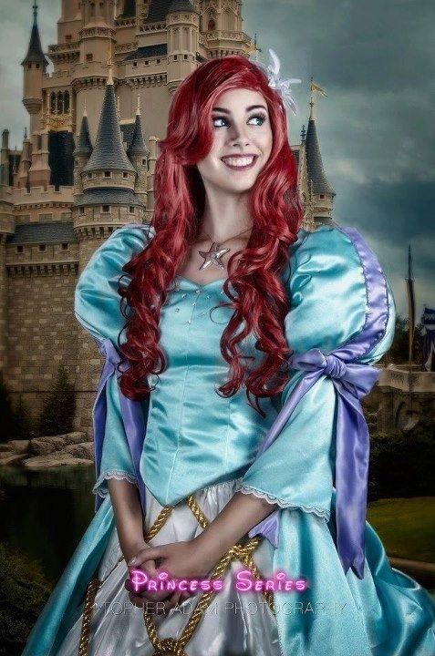 Custom Made Ariel Land Dress Parade Version A Theme Park