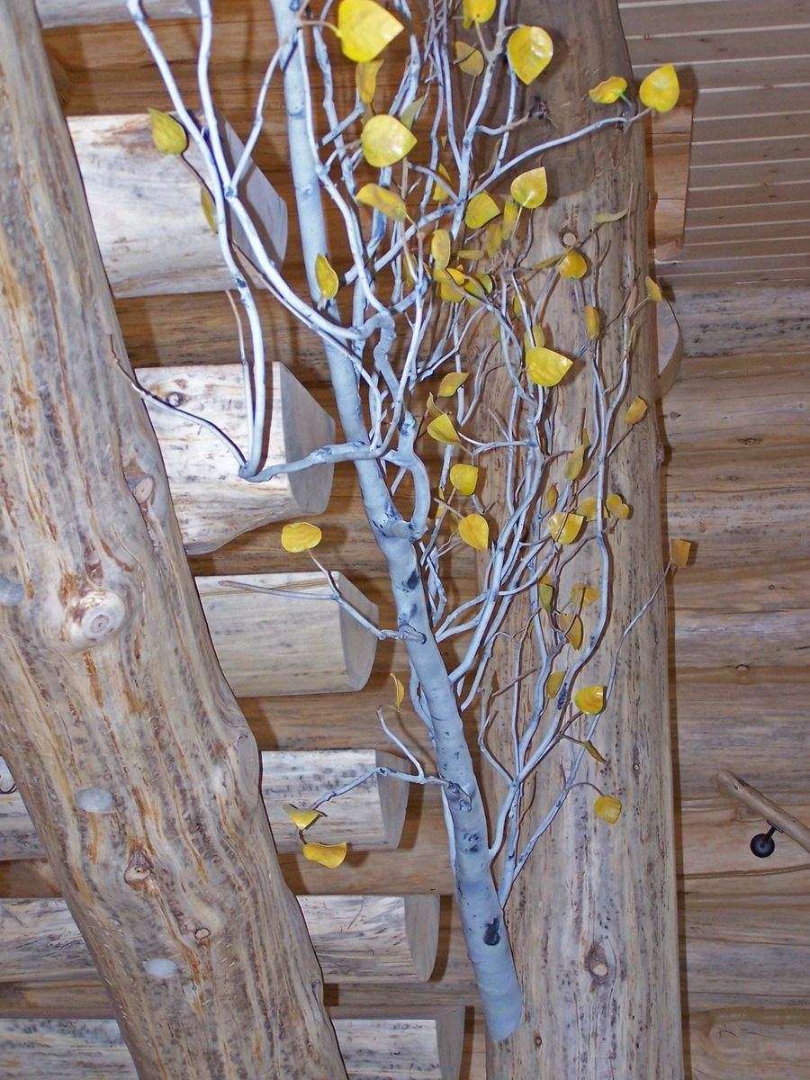 Custom Aspen Tree Stair Railing By Jackalope Farm