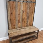 Hand Made Hall Tree Shoe Bench Coat Rack By Deer Valley Woodworks Custommade Com