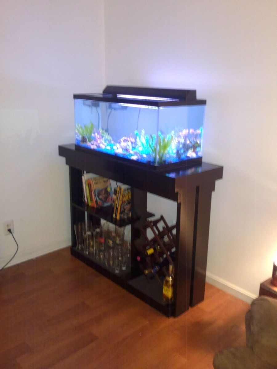 Custom Made Aquarium Stand By Colemans Carpentry