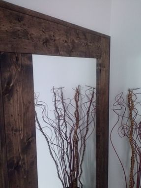 Hand Crafted Large Floor Mirror Reclaimed Wood Mirror Standing Mirror Rustic Floor Mirror By