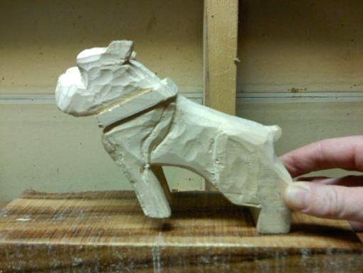 Custom Mack Truck Dog Carving By American Pride