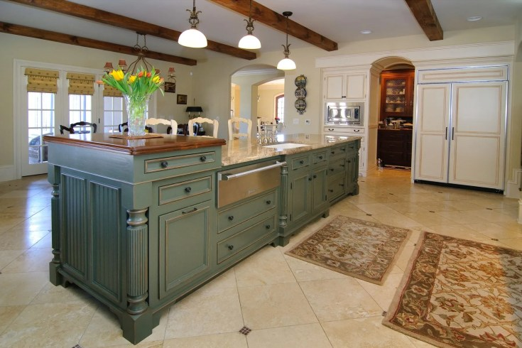 hand crafted custom kitchen island by against the grain custom