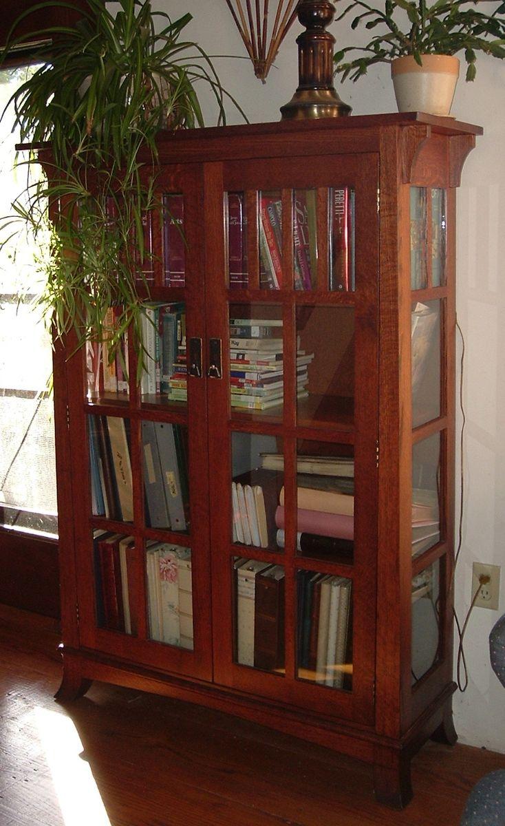title   Bookshelf With Doors