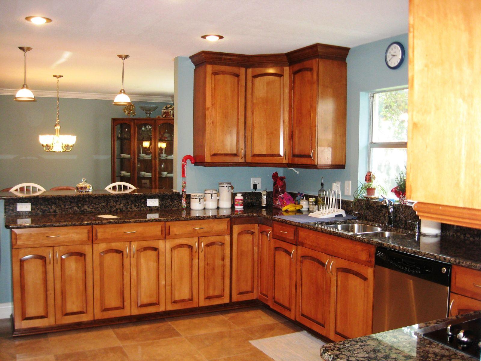 Handmade Maple Kitchen by Gideon's Cabinet & Trim ... on Maple Cabinets Kitchen Ideas  id=17518