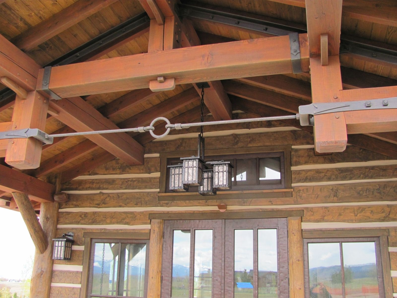 Handmade Iron Timber Hardware By Hellgate Forge