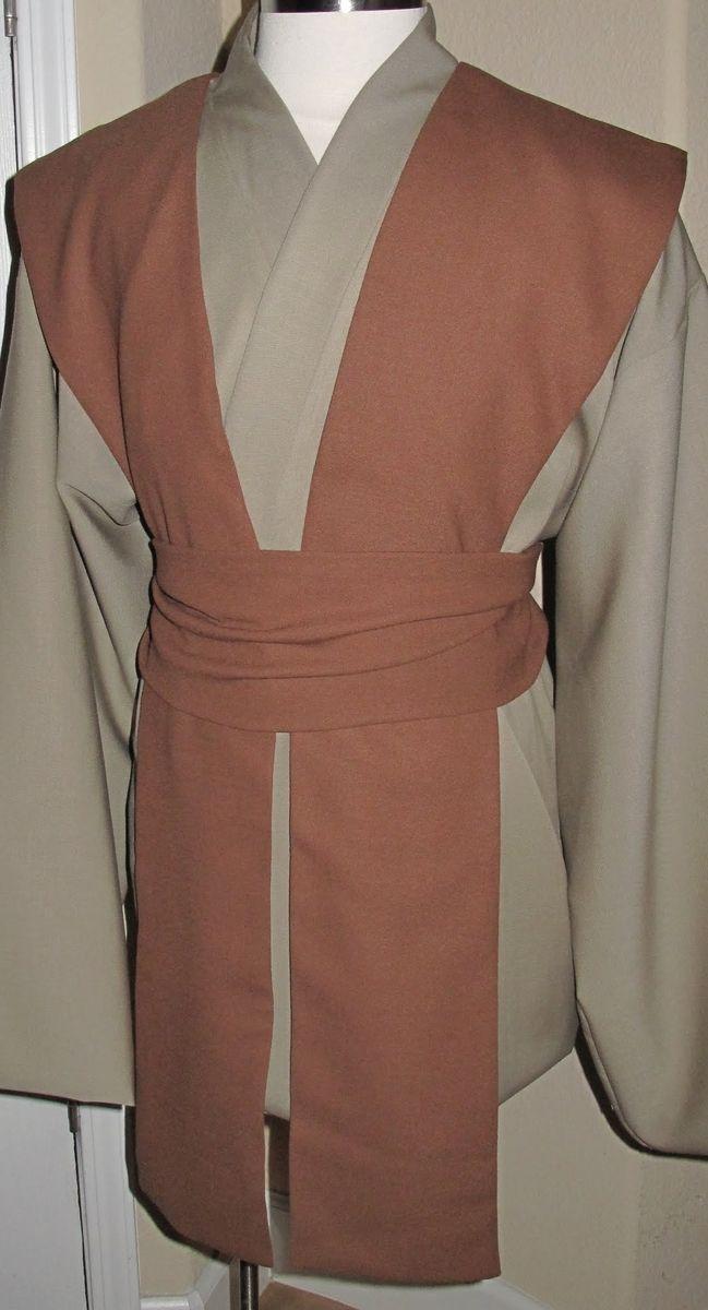 Hand Crafted Wool Gabardine Jedi Tunic Amp Wool Crepe