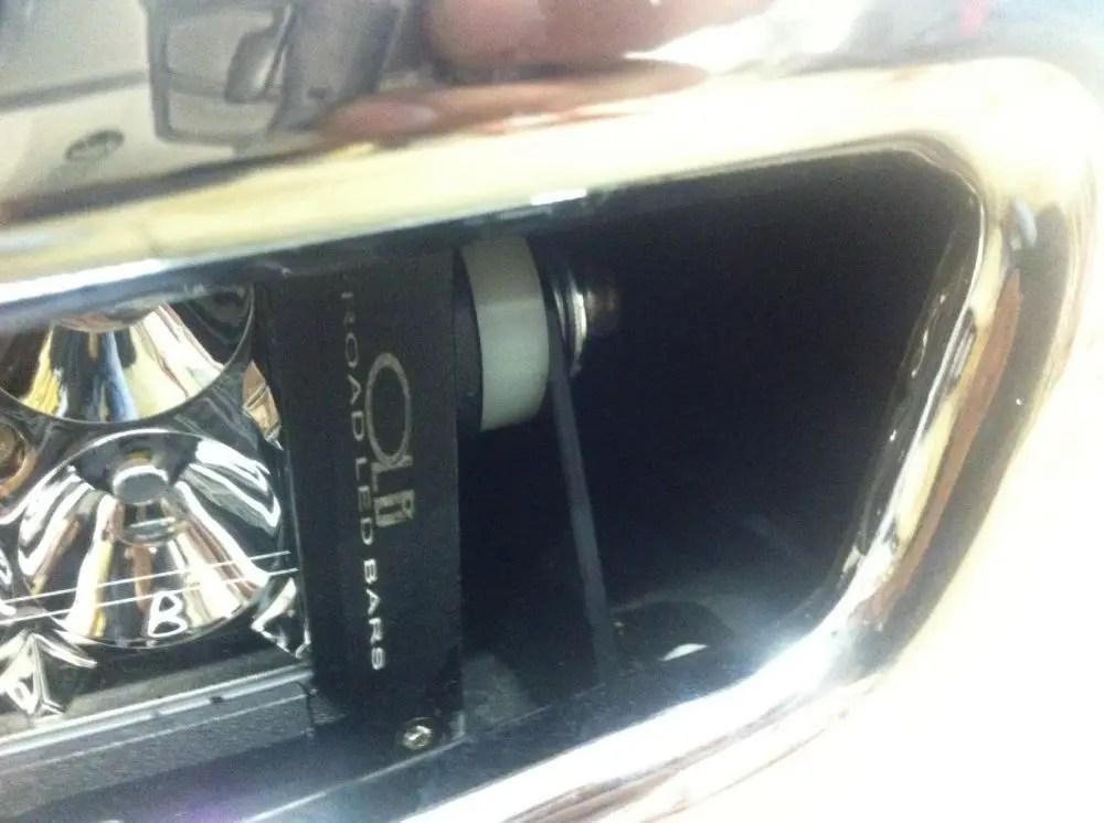 Dodge Light Bar Mount 2012