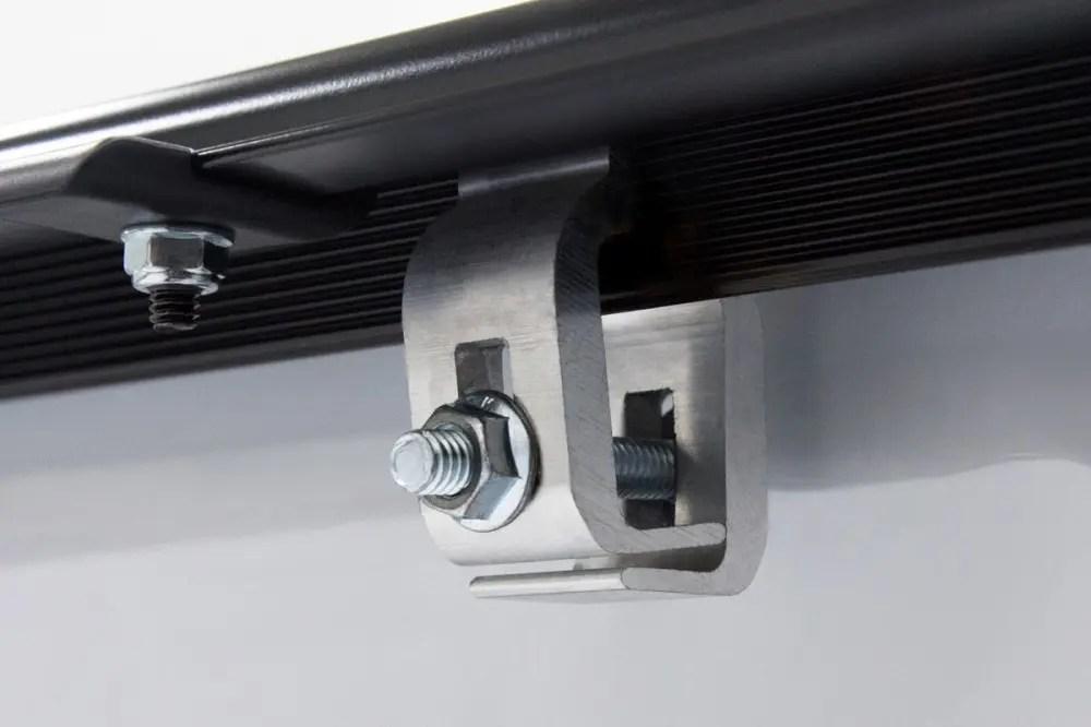 Lomax B1020039 Hard Tri Fold Tonneau Cover Chevy Gmc 1500