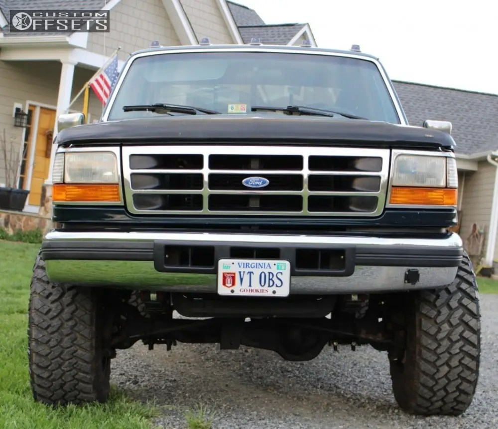 Ford F 250 4 Inch Lift 35 Tires With