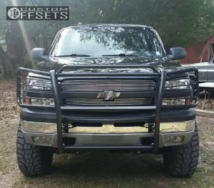 Wheel Offset 2003 Chevrolet Silverado 1500 Hd Aggressive 1