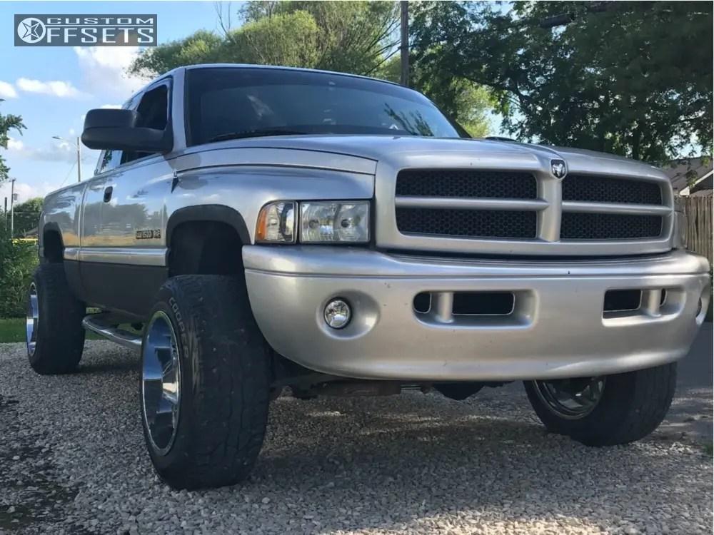 Dodge Offset Ram 20x12 Metal Moto 962 0