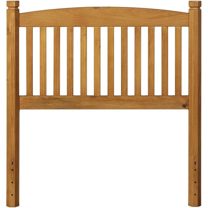 hillsdale furniture oak tree wood twin headboard country pine