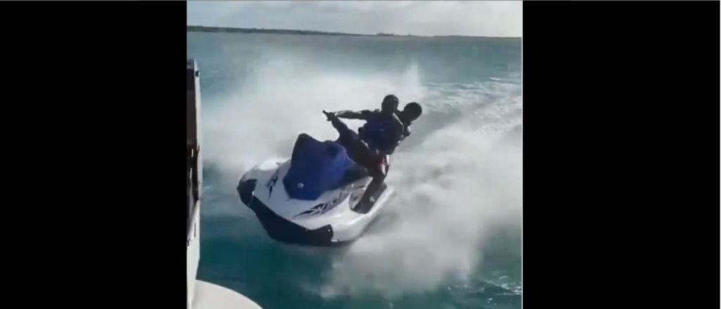 WATCH:Guy Crashes A Jet Ski In Epic Fashion In Unreal Viral Video