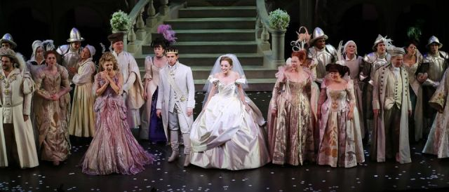 """Cinderella"" Broadway Opening Night curtain call at Broadway Theatre"