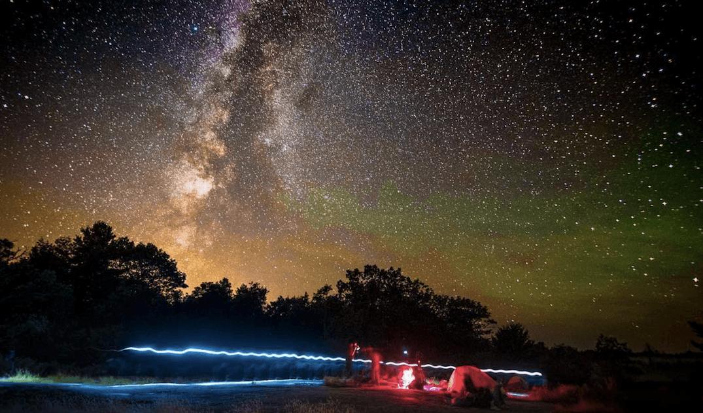 Torrance Barrens Night Sky Preserve Ontario Northern Lights