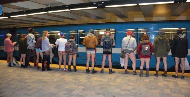 Montreal's 'No Pants' metro ride is happening January 13 | Listed