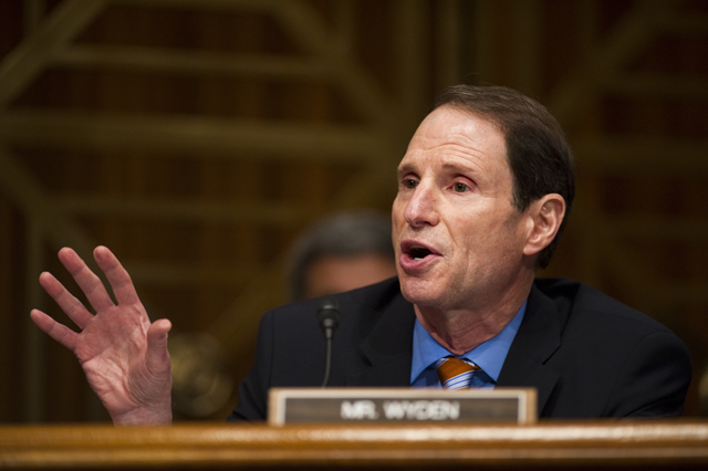 Image result for photos of sen ron wyden