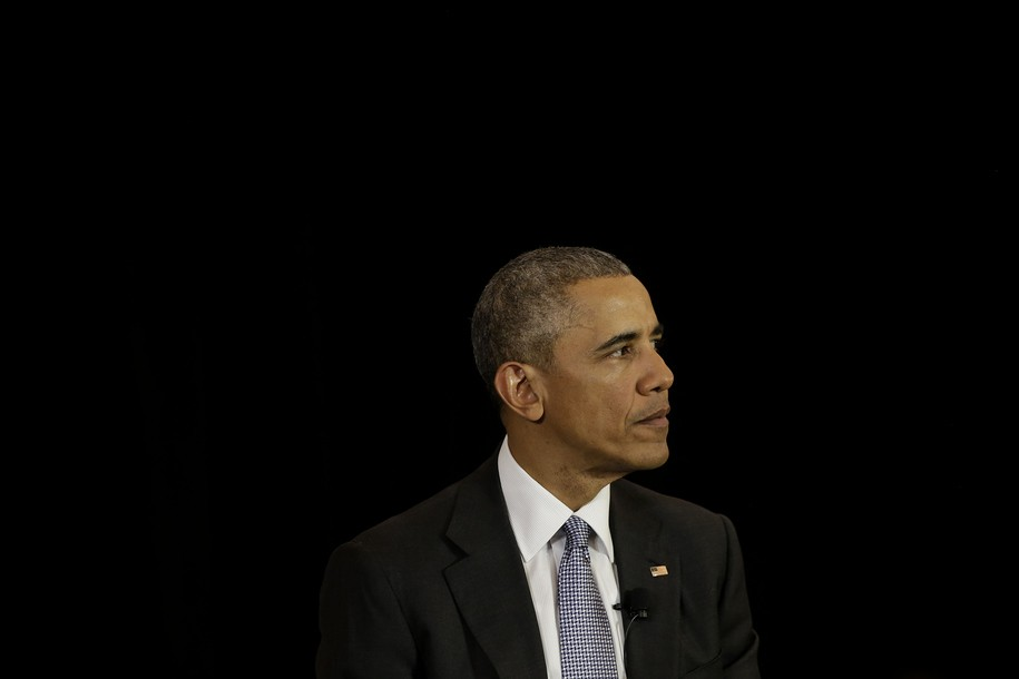 CHICAGO, ILLINOIS - APRIL 07: President Barack Obama speaks at the University of Chicago Law School on April 7, 2016 in Chicago, Illinois. Obama addressed his U.S. Supreme Court nominee Merrick Garland as he hopes members of the Republican party will give Garland a hearing and a vote in Washington. (Photo by Joshua Lott/Getty Images)