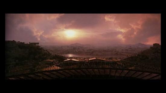 closing scene Gladiator Ridley Scott
