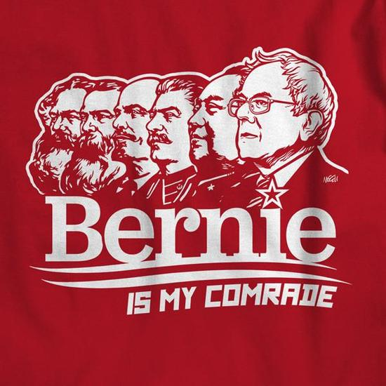 Image result for sanders communist