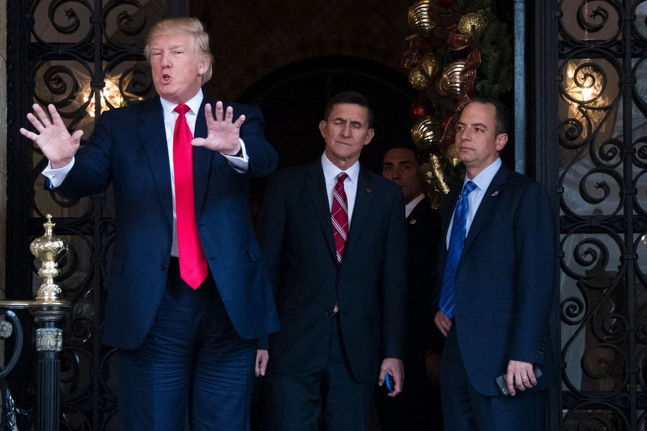 Image result for photos of trump and mike flynn