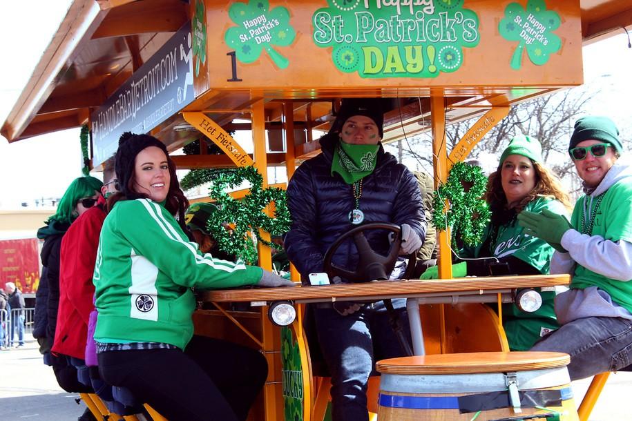 Detroit celebrates St. Patrick's Day