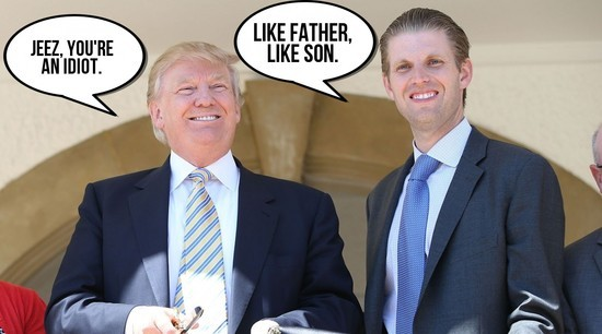 Image result for eric trump russia