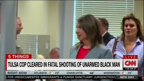 Betty Shelby is cleared for the shooting death of Terence Crutcher.