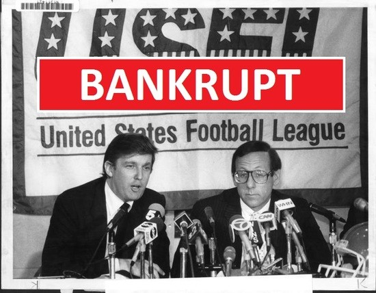 Image result for images trump's usfl