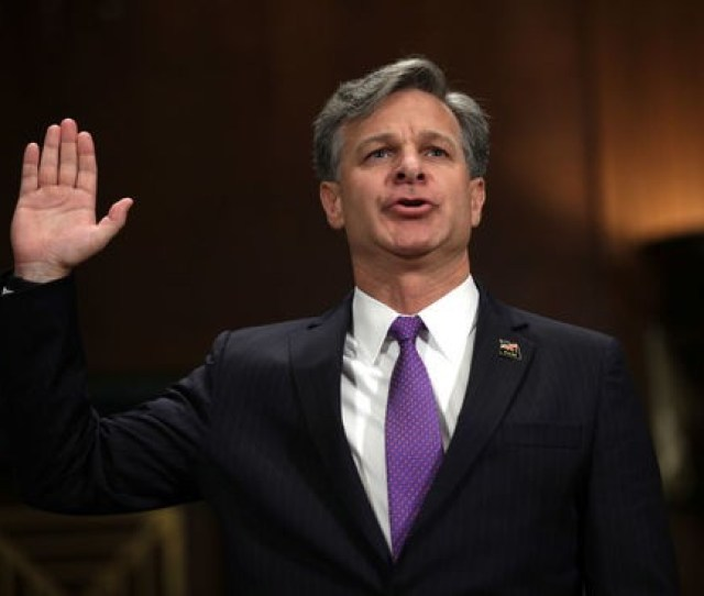 Gettyimages 813264136 Attribution Getty Images Fbi Director Christopher Wray White House Aides Fear Fbi Director Will Resign Over Nunes Memo