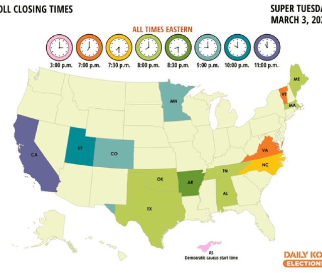 The Daily Kos Guide To Super Tuesday