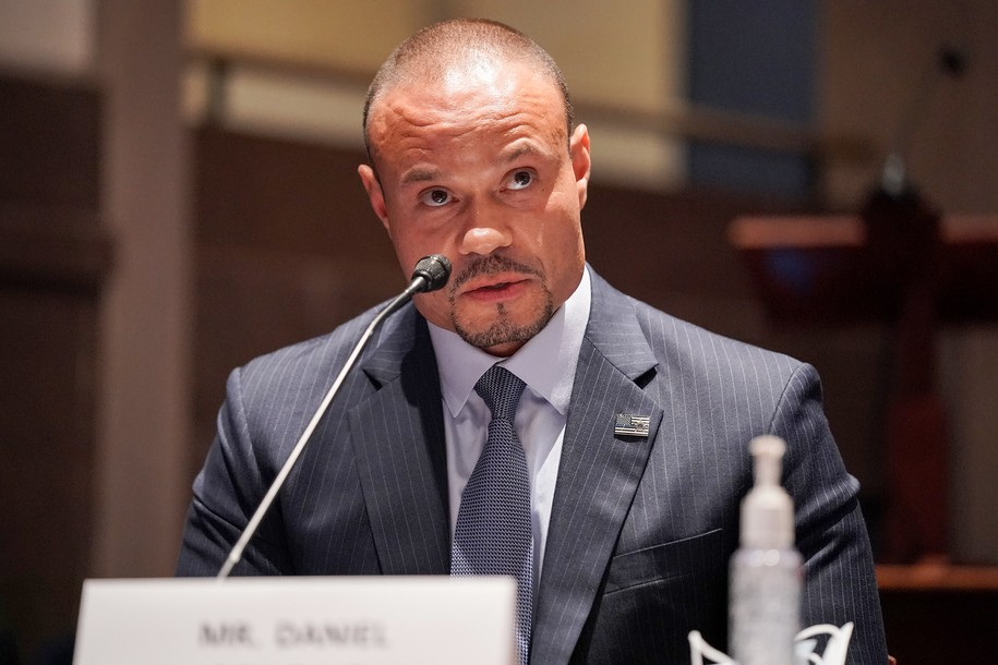 WASHINGTON, DC - JUNE 10:  Conservative radio show host Daniel Bongino speaks at a House Judiciary Committee hearing on police brutality and racial profiling on June 10, 2020 in Washington, DC. George Floyd died May 25 while in Minneapolis police custody, sparking worldwide protests.  (Photo by Greg Nash-Pool/Getty Images)