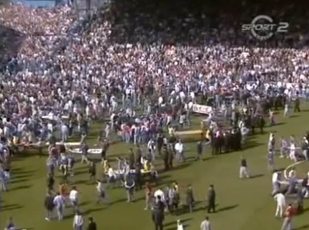 Image result for hillsborough advertising hoardings as stretchers