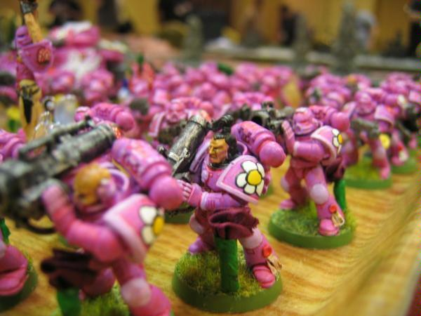 Image result for space marines pink