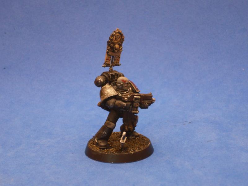Raven Guard Veteran with Legion Vexilla