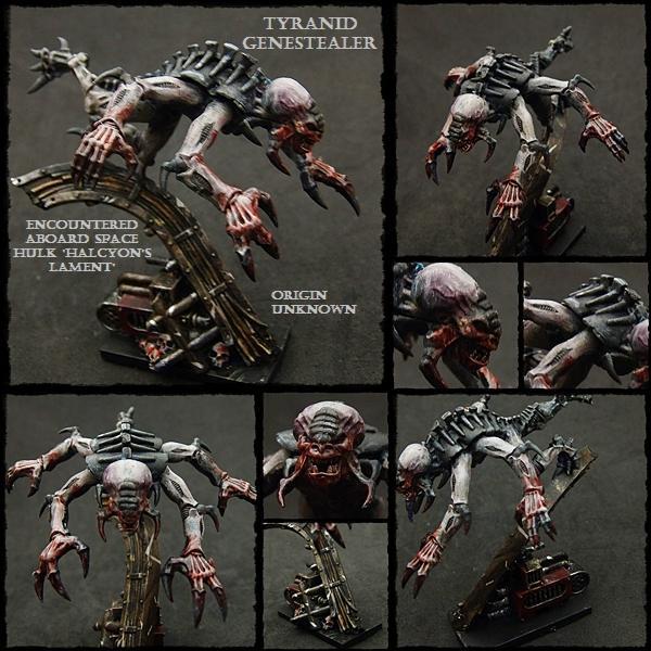 Genestealer, Space Hulk, Tyranids, Warhammer 40,000