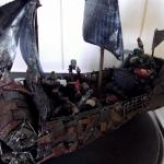 Battlewagon Conversion Deffrolla Freebooter Looted Orks Pirate Scratch Build Ship Wagon Gallery Dakkadakka Roll The Dice To See If I M Getting Drunk