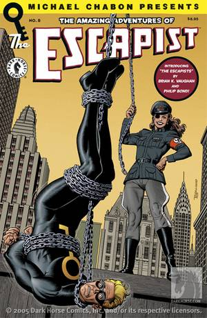 The Escapist mock comic book cover, based on Michael Chabons Kavalier & CLay